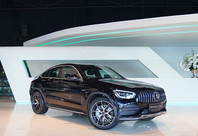 GLC43 Coupe AMG Facelift Mercedes Benz