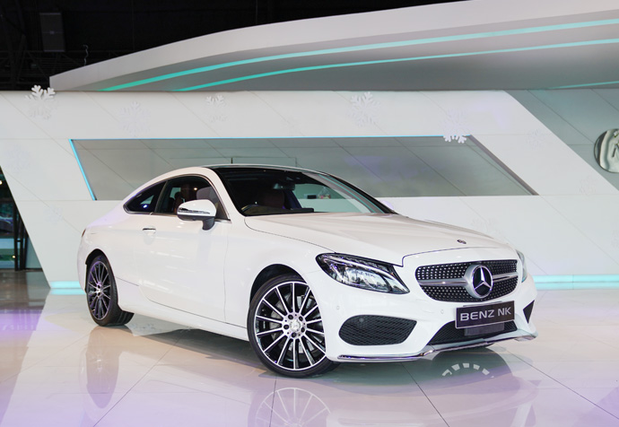 NEW C250 Coupe (W205) Mercedes Benz