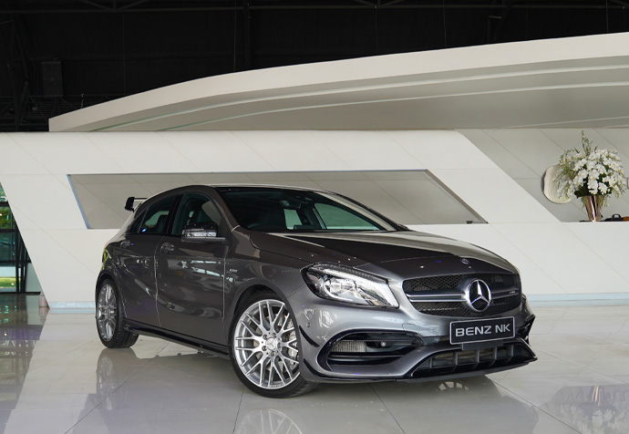 A45 AMG Facelift