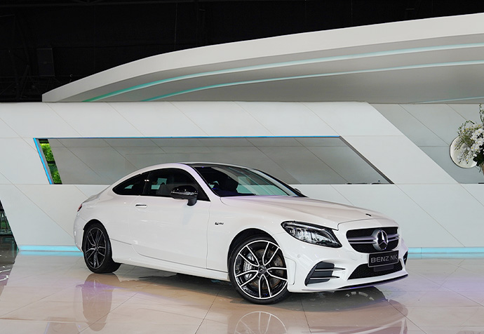 C43 Coupe AMG Facelift