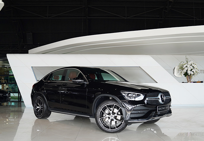 GLC220d Coupe AMG Facelift Mercedes Benz