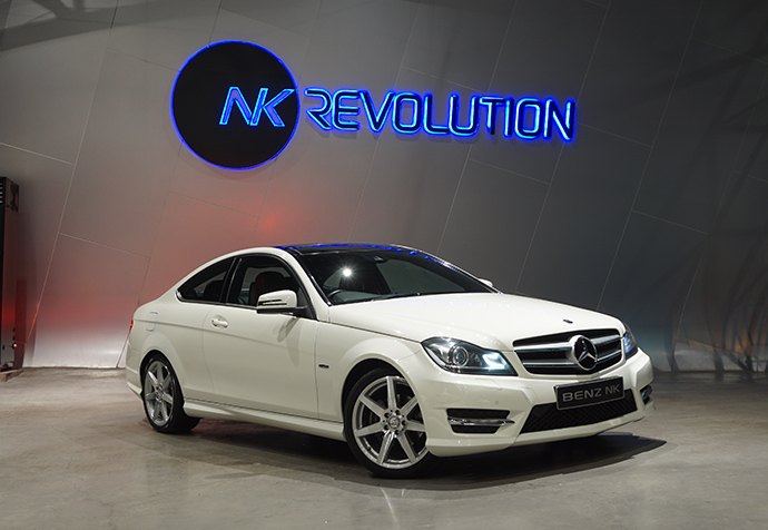 C180 CGI COUPE Mercedes Benz