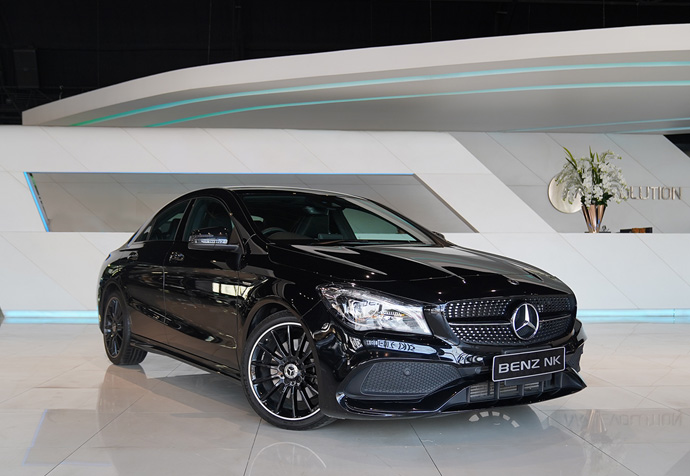 CLA250 AMG Facelift Night Edition