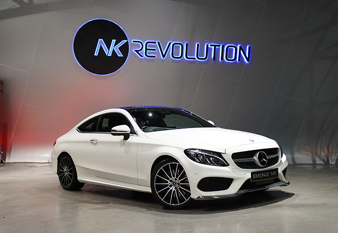 NEW C250 Coupe (W205)