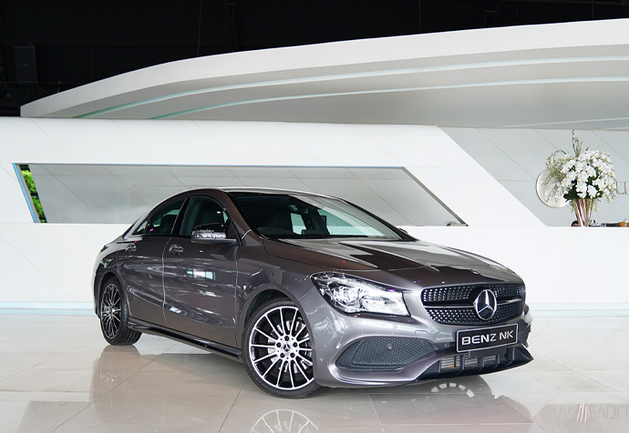 CLA250 AMG Facelift White Art Edition