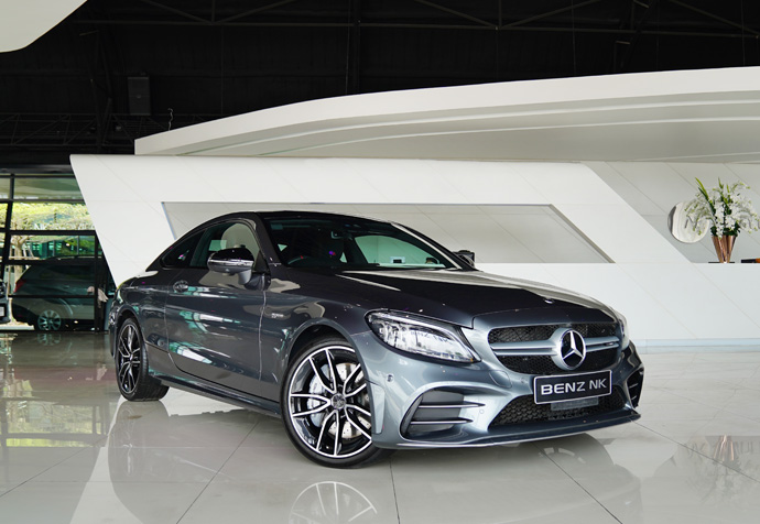 C43 COUPE FACELIFT