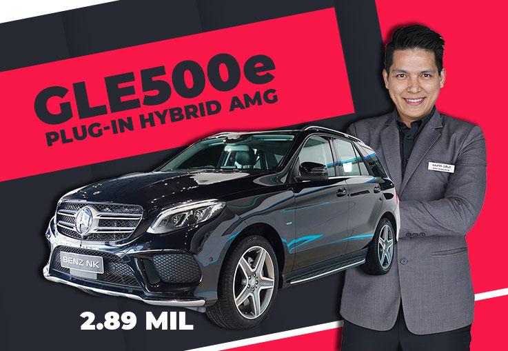 GLE500e Plug-in Hybrid AMG เพียง 2.89 ล้าน Warranty MBTH ถึงกย. 2021