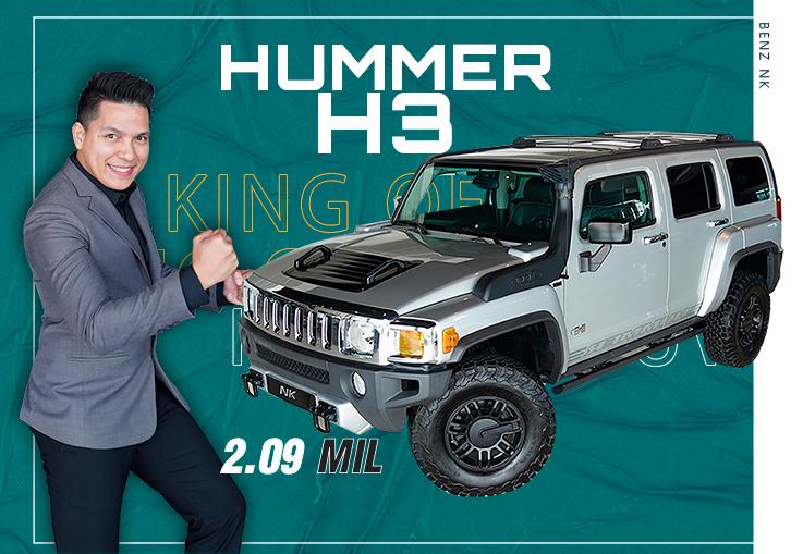 King of SUV สายลุยห้ามพลาด..คันเดียวเท่านั้น! เพียง 2.09 ล้าน Hummer H3 วิ่งน้อย 35,xxx กม.